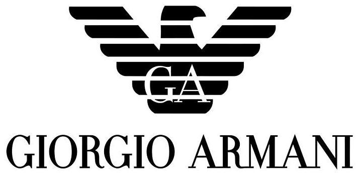Brillenreinigungsgerät Giorgio Armani Logo